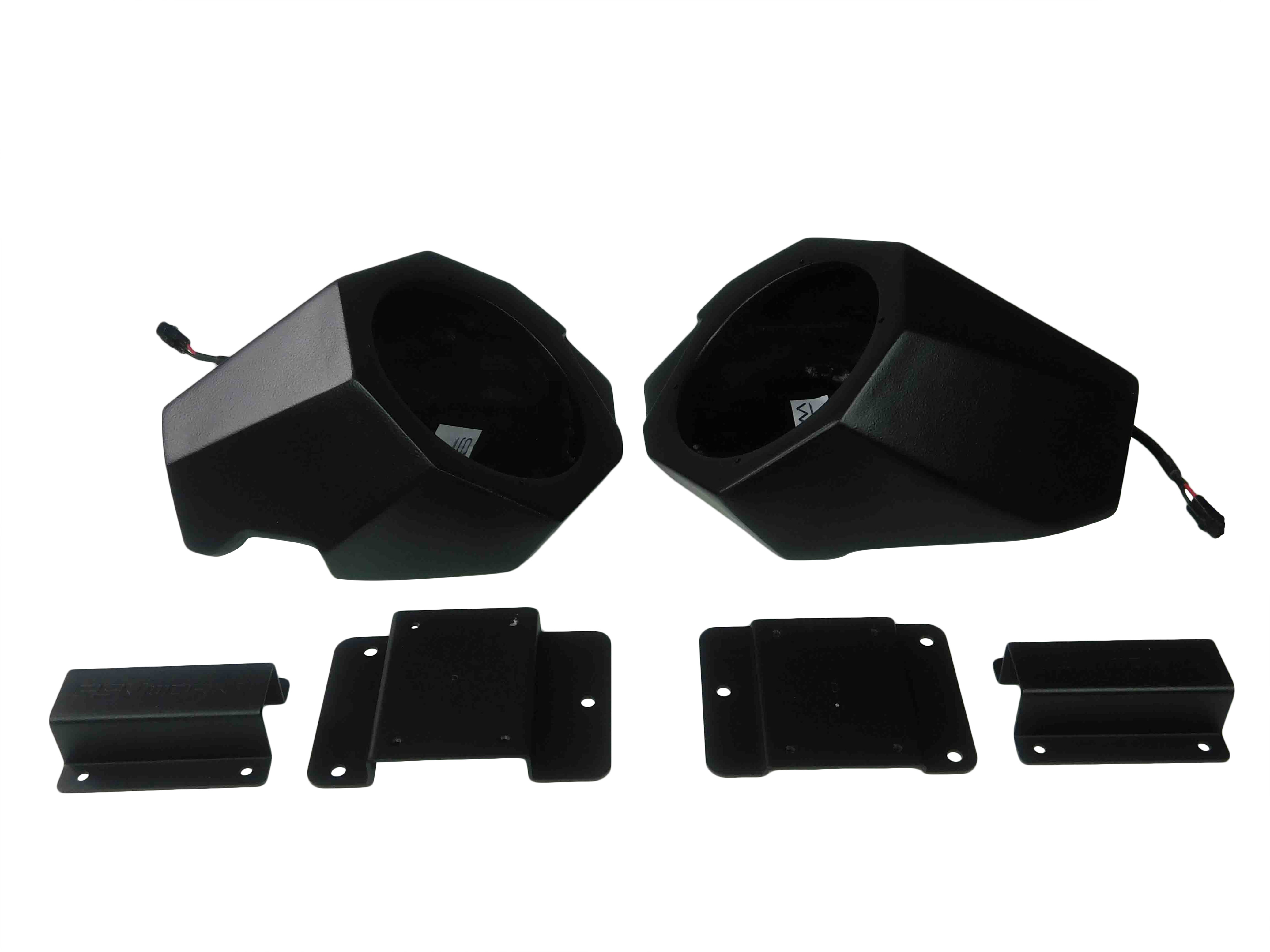 SSV-Works-X3-F65A-Front-Kick-Panel-Speaker-Unloaded-No-Speakers-image-1