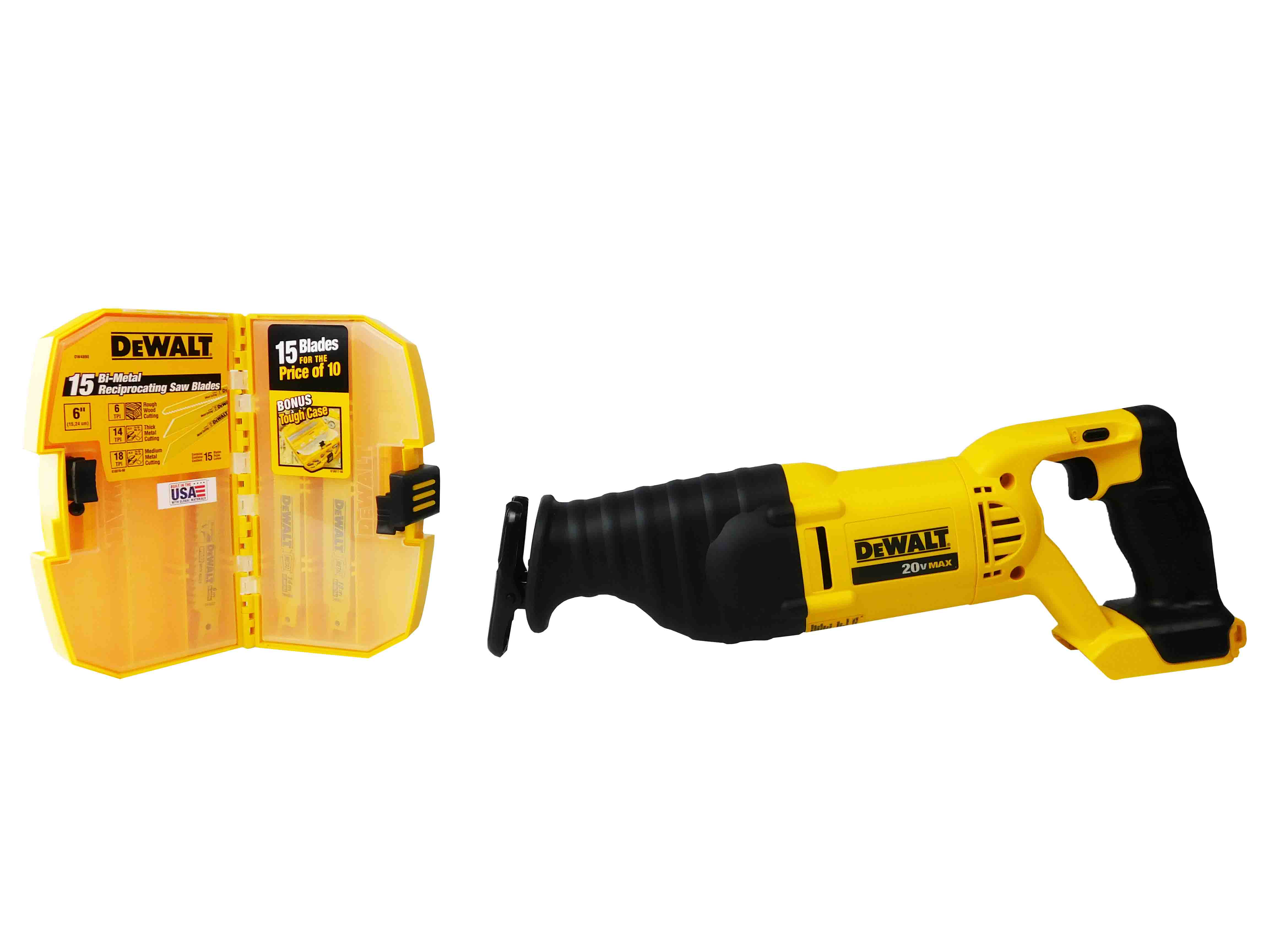 Dewalt-DCS381B-20VReciprocating-Saw-DW4890-15Pc-Reciprocating-Blades-image-1