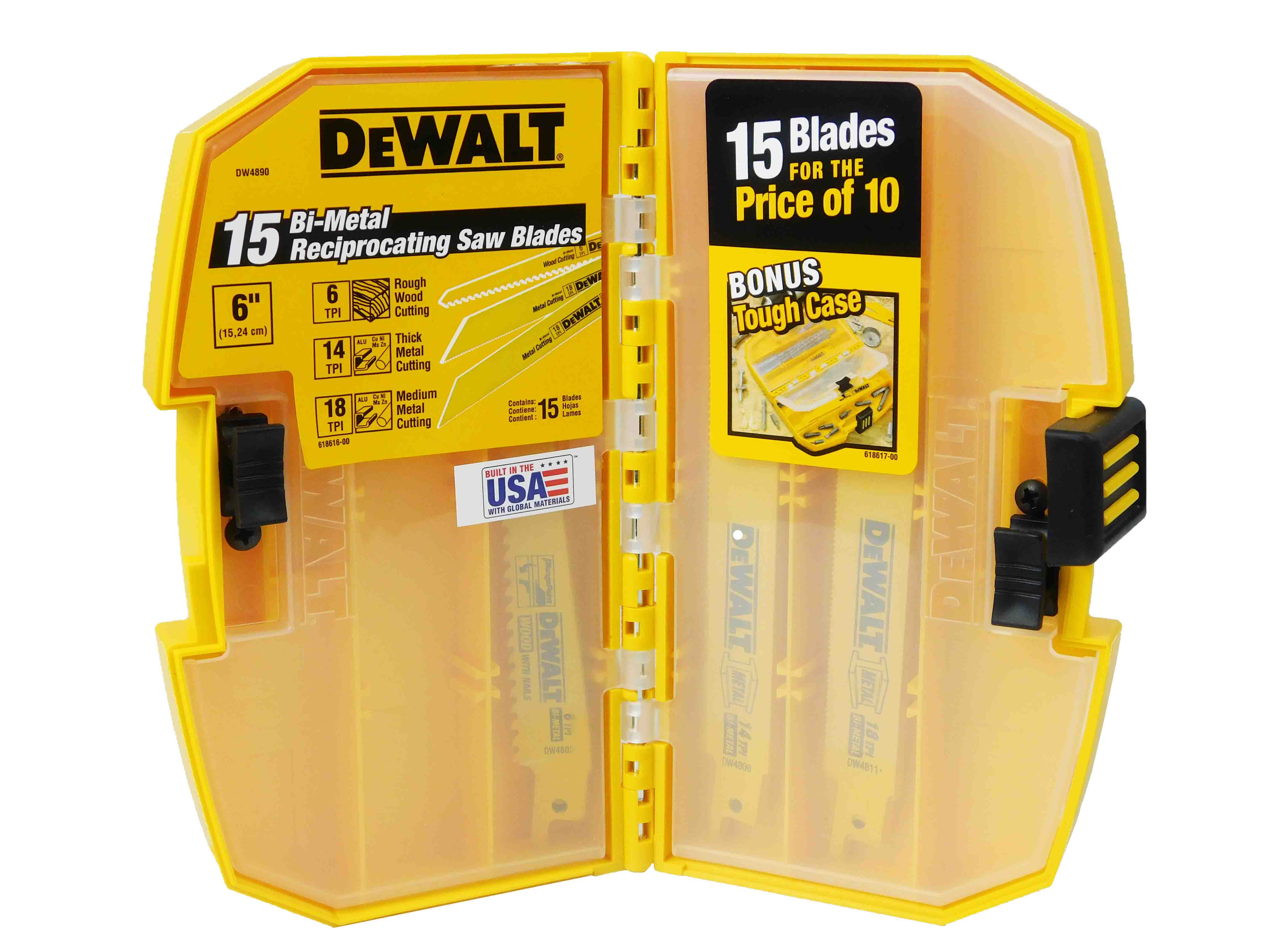 Dewalt-DCS381B-20VReciprocating-Saw-DW4890-15Pc-Reciprocating-Blades-image-2