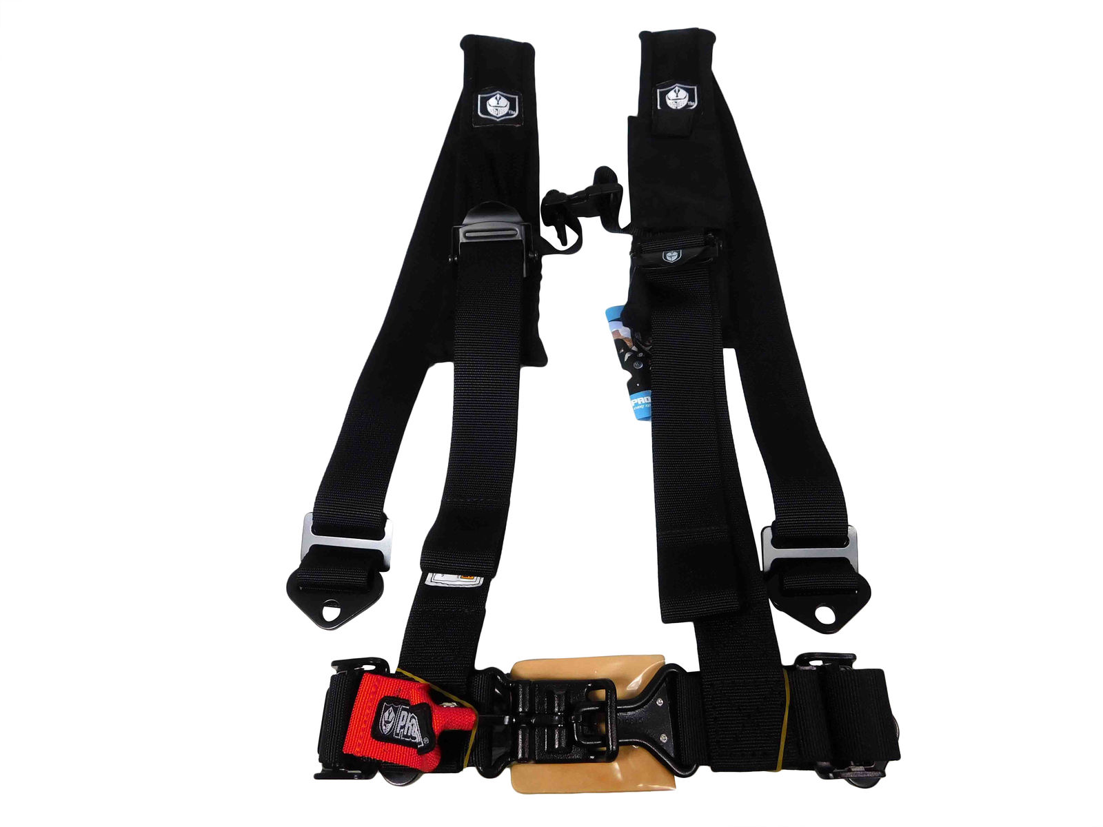 Pro-Armor-A114220-Black-4-Point-Harness-2inch-Straps-image-1