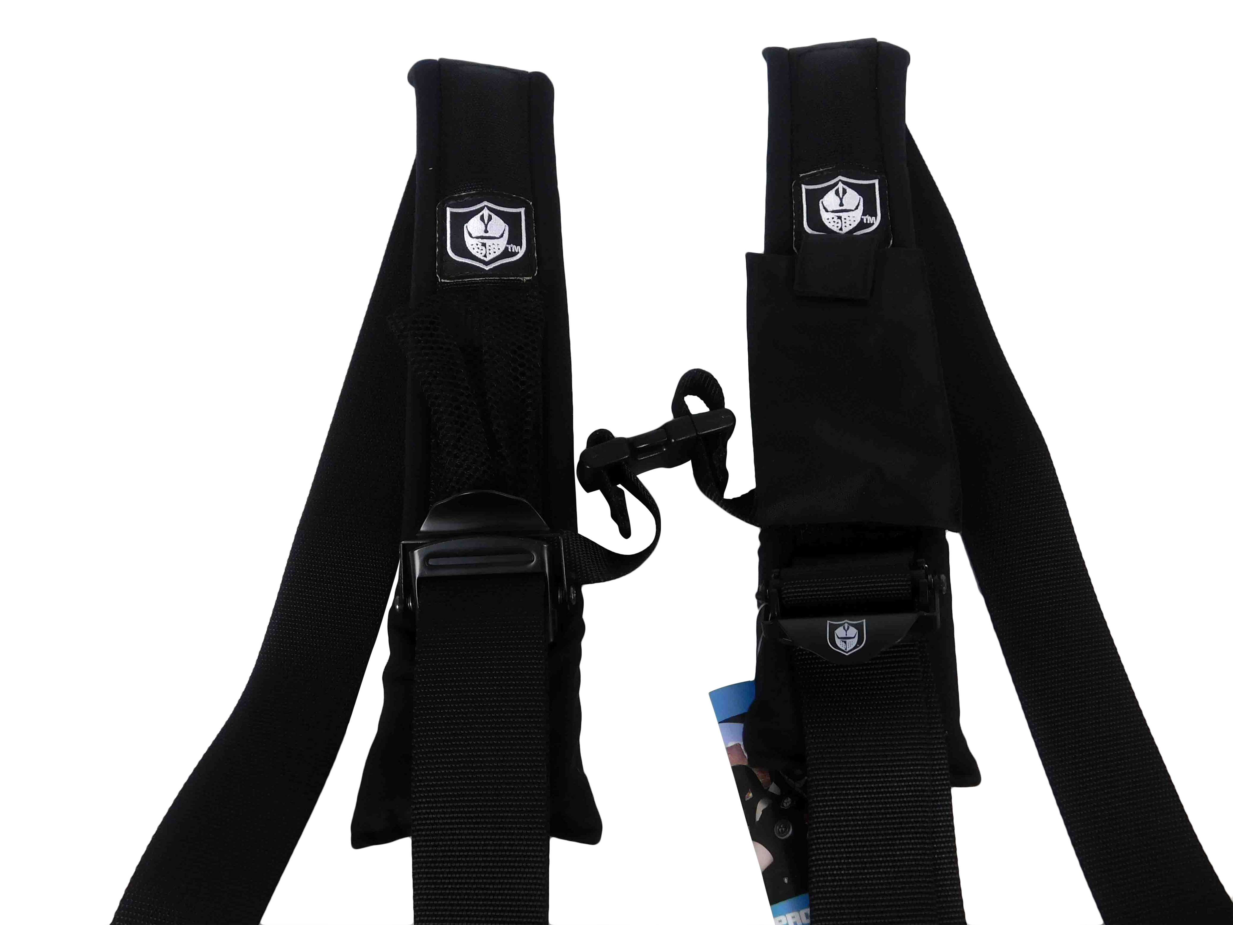 Pro-Armor-A114220-Black-4-Point-Harness-2inch-Straps-image-2