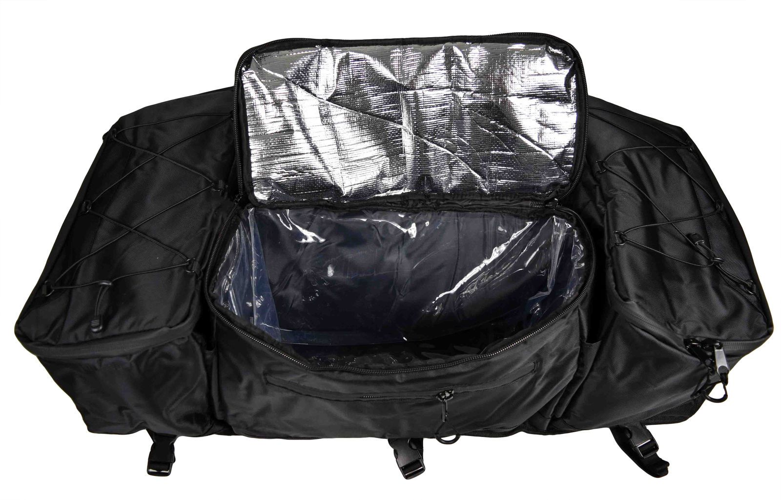 Kolpin 91156 ATV Gear /& Cooler Bag Black