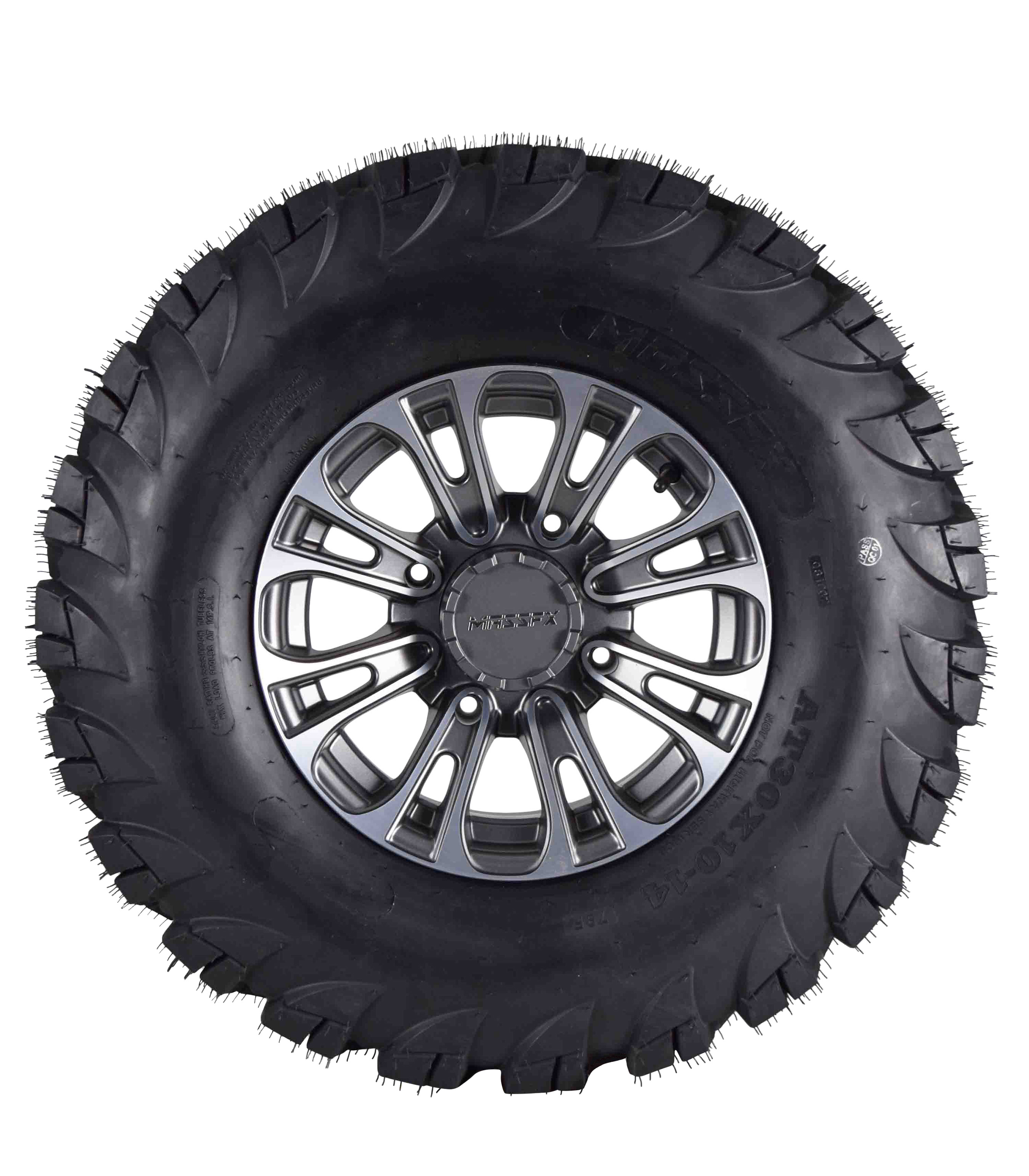 MASSFX-VY-30x10-14-Tire-w-Gunmetal-14x7-4-156-Rims-Wheel-Tire-Kit-with-Spare-image-3