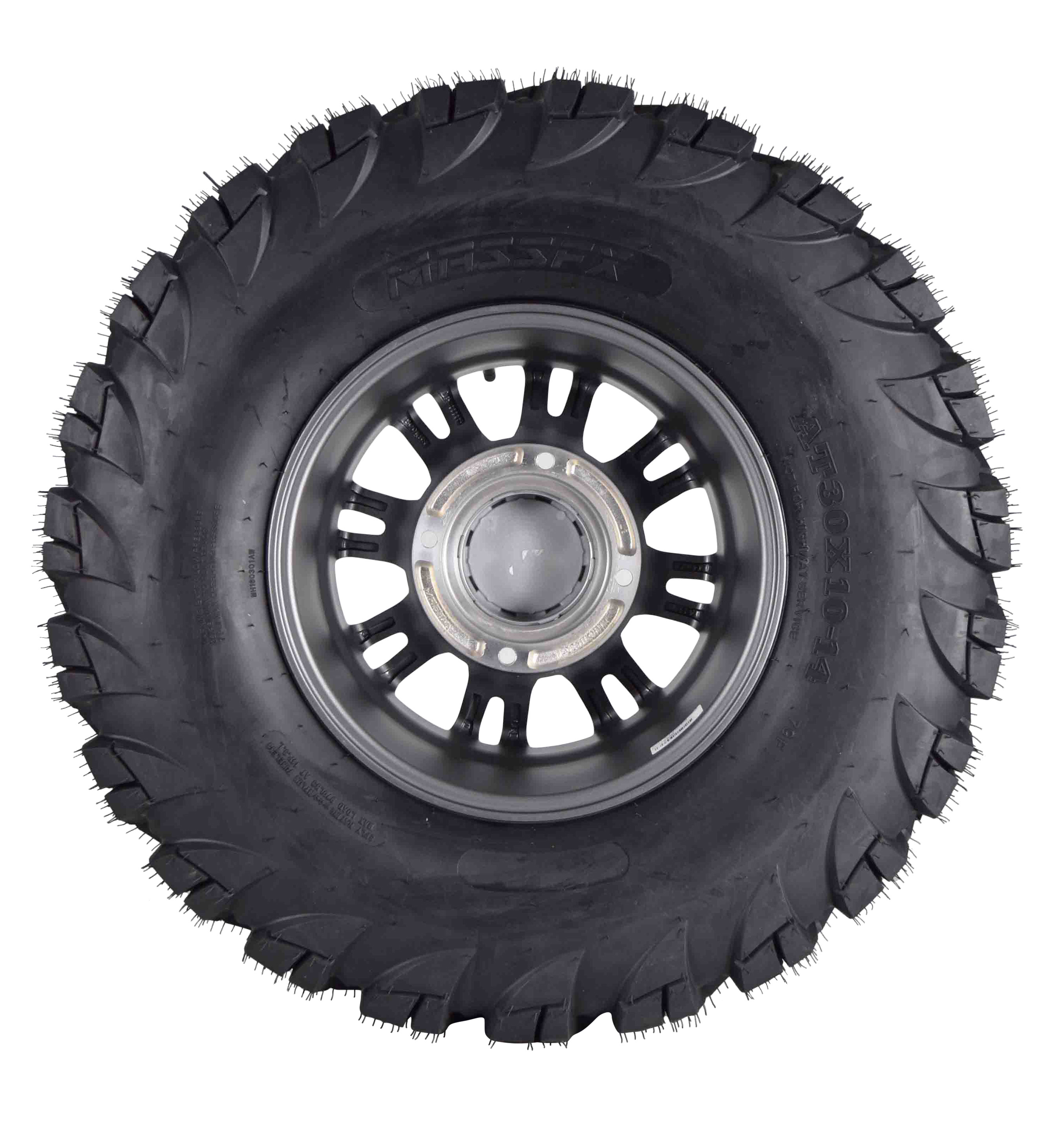 MASSFX-VY-30x10-14-Tire-w-Gunmetal-14x7-4-156-Rims-Wheel-Tire-Kit-with-Spare-image-4