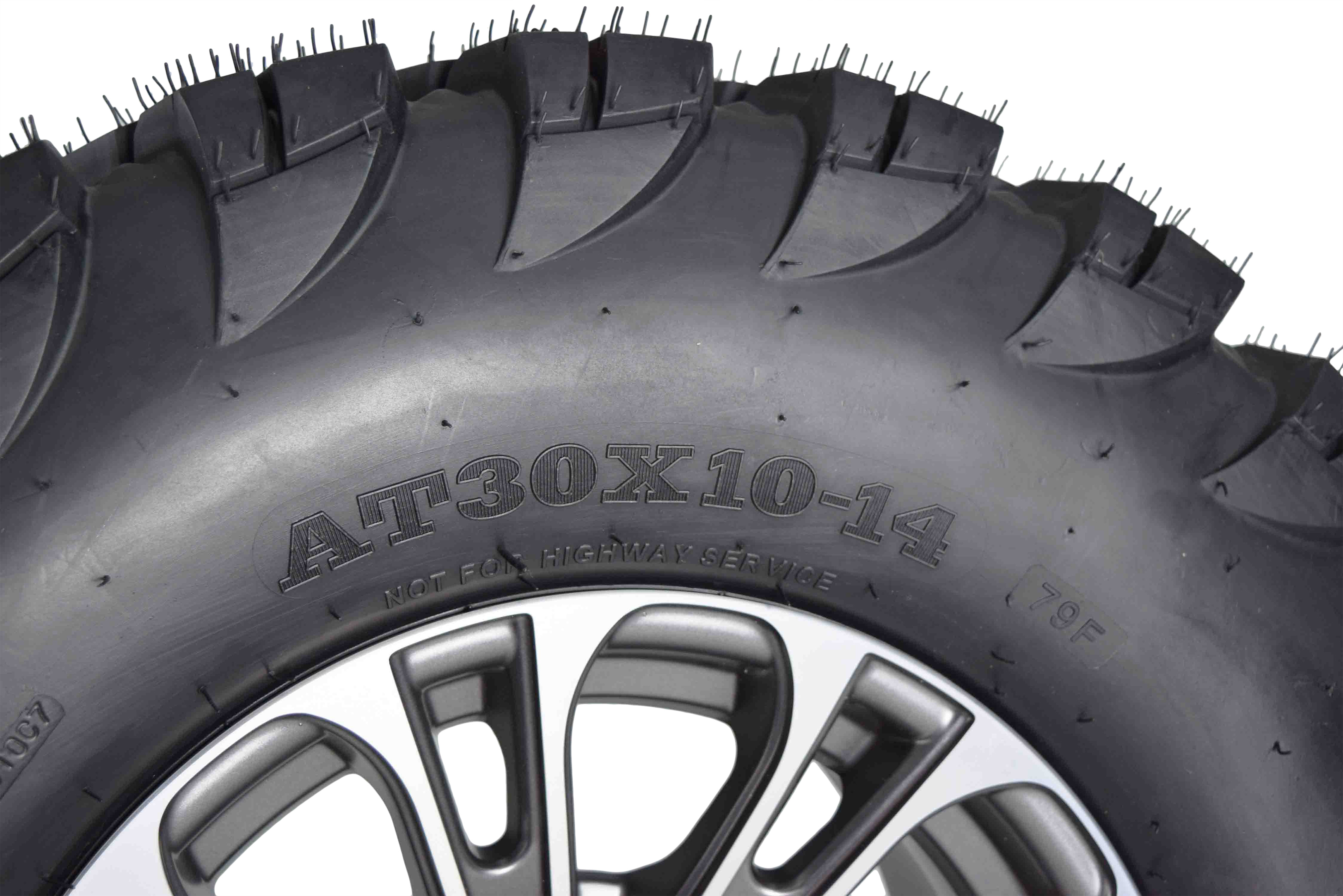 MASSFX-VY-30x10-14-Tire-w-Gunmetal-14x7-4-156-Rims-Wheel-Tire-Kit-with-Spare-image-5