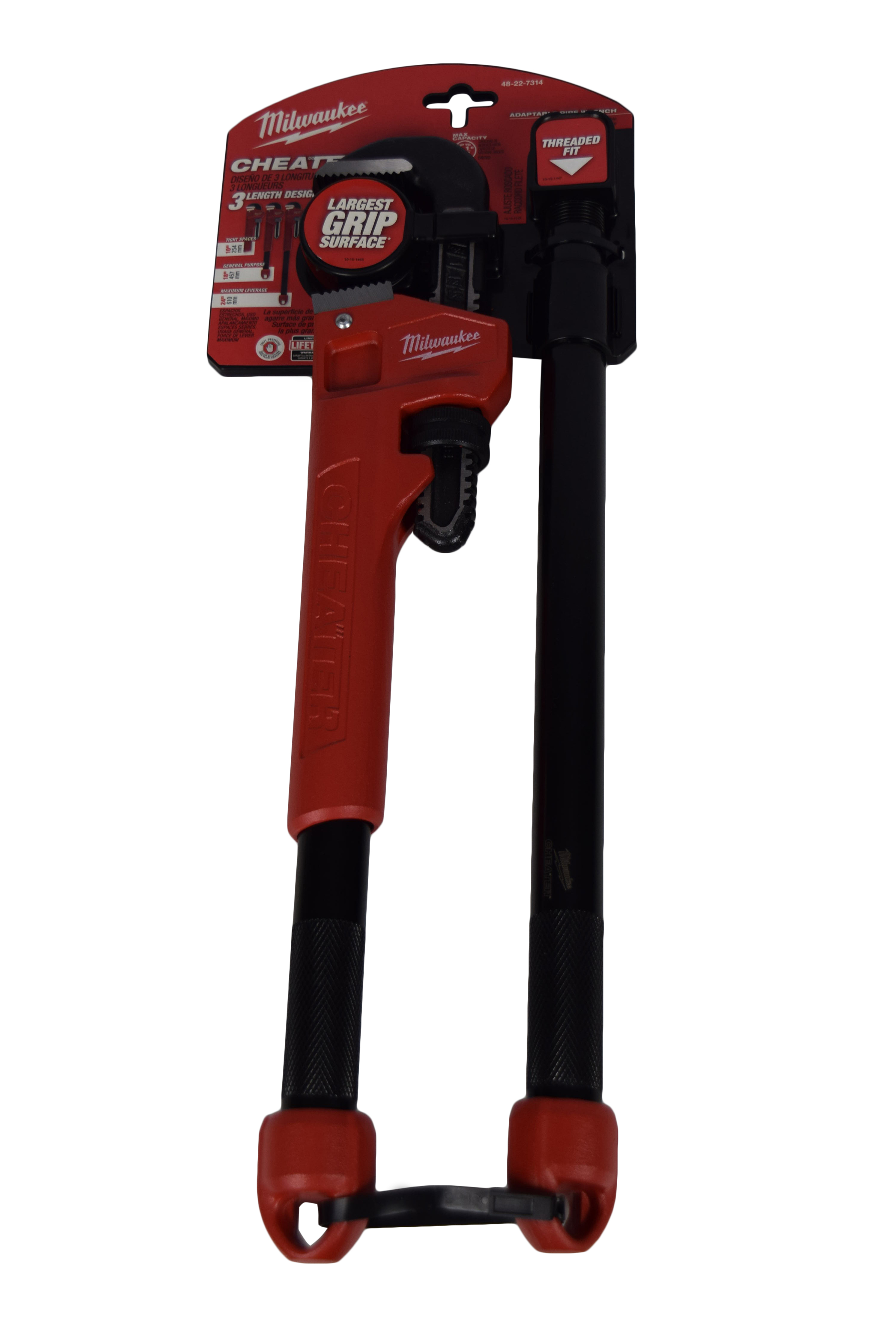 Milwaukee-48-22-7314-Adaptable-Cheater-Pipe-Wrench-image-1